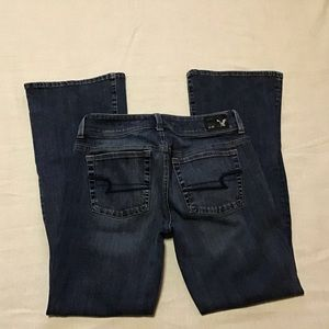 American eagle outfitters jeans flairs size 6S